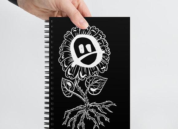 Renee Phoenix Sad Flower Spiral notebook