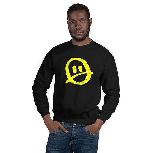 Renee Phoenix Frowny Black Unisex Sweatshirt