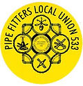 Pipefitters Local 533 Logo
