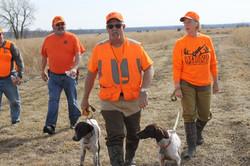 Dog handlers