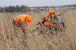 Hunters in the field