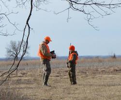 Hunters together