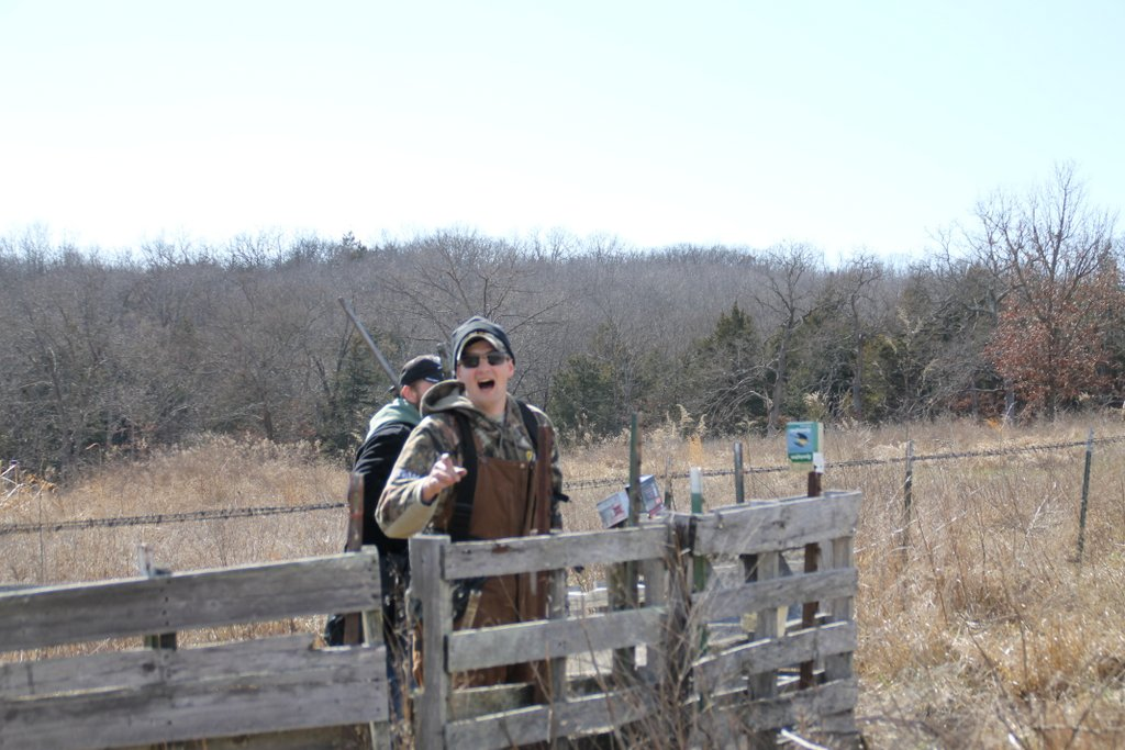 Hunter enjoying the day