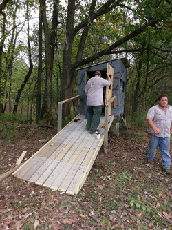 Installing new ramps