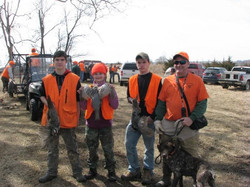 2015 MDS MWT Youth and Hunters with a Disability Pheasant Hunt great ending
