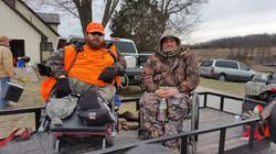Hunters ready
