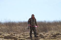 "Hunter shot a ""ribbon"" or prize bird"