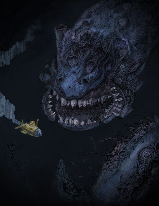 Sea Monster Showdown