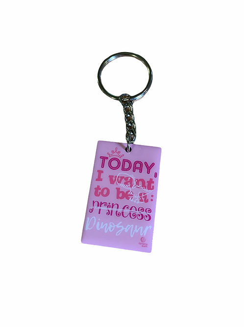 Today I want to be...Keyring