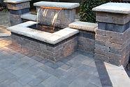 Water Features, Brick Patio, Unilock