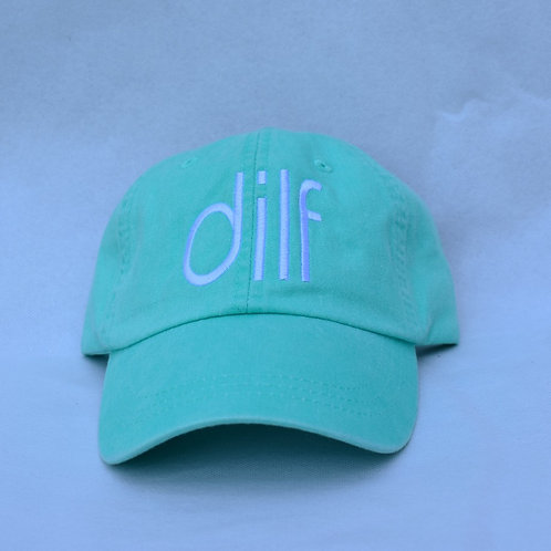 the dilf hat - mint green