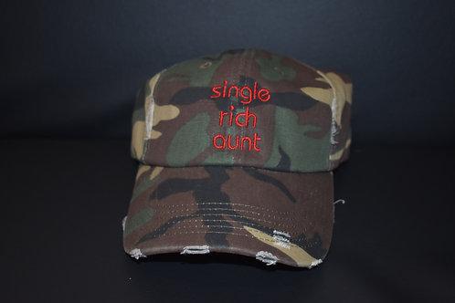 the single rich aunt hat - camo