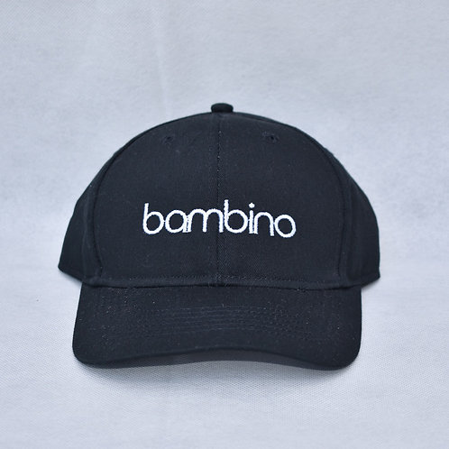 the bambino hat - black