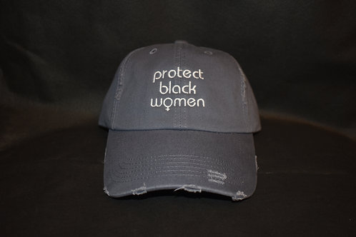the protect black women hat - blue