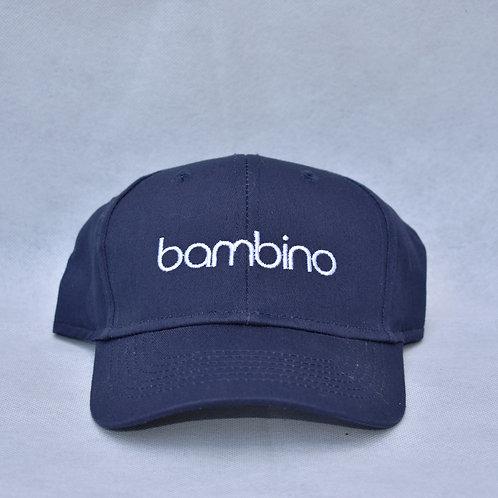 the bambino hat - navy blue