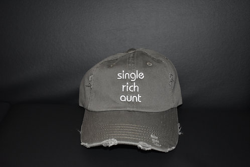 the single rich aunt hat - olive