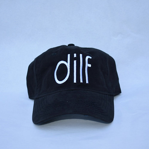 the dilf hat - black