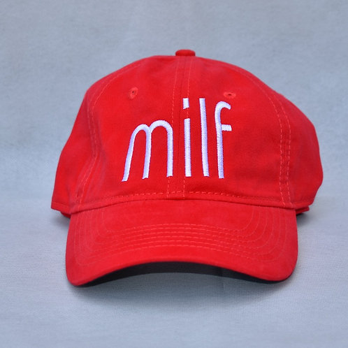 the milf hat - red