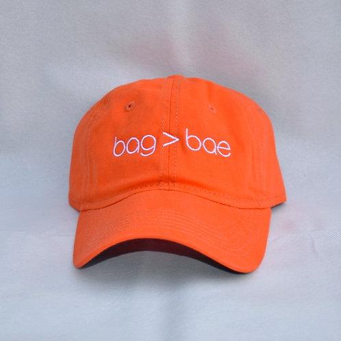 bag > bae hat - orange