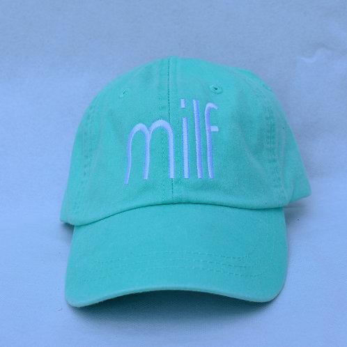 the milf hat - mint green