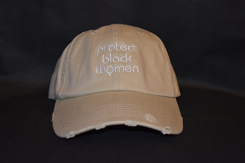 the protect black women hat - khaki
