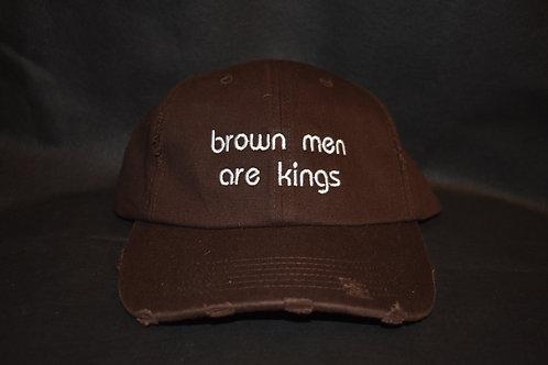 the brown men are kings hat - brown