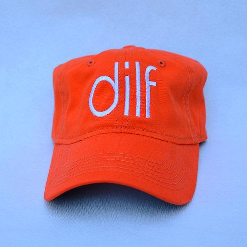 the dilf hat - orange