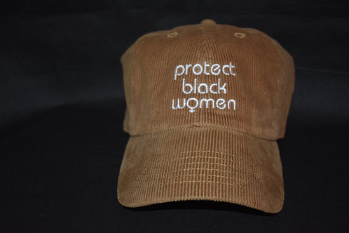 the protect black women hat - chestnut brown