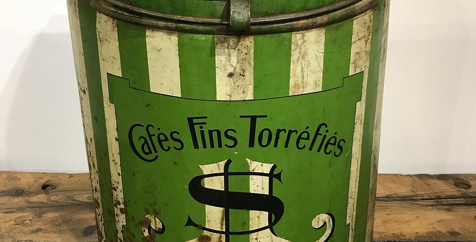 Large French Coffee Bin
