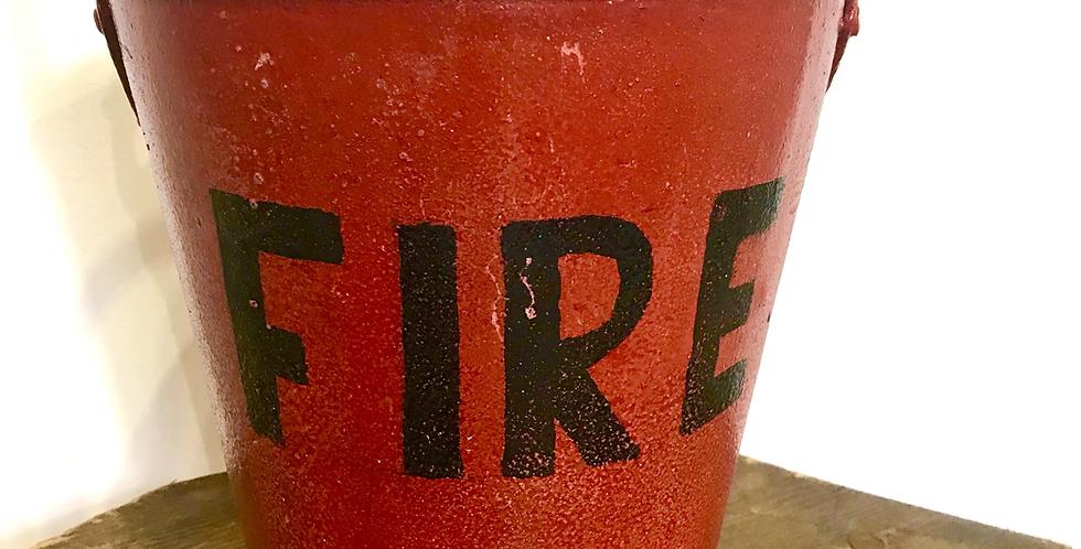 Vintage Fire Bucket #2