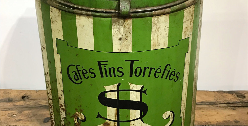 Large French Coffee Bin