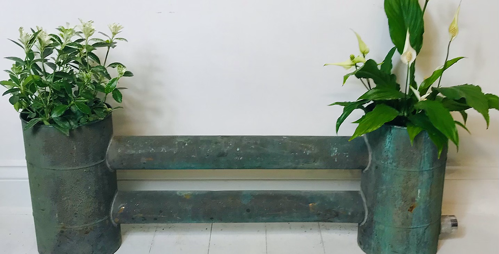 Large French c.1920's/30's Copper Twin Planter