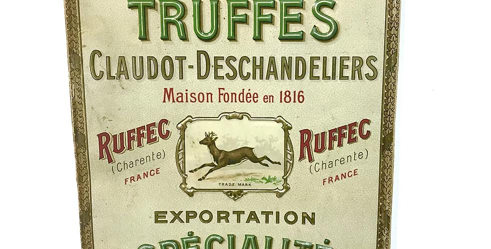 c.1900 French Delicatessen Shop Sign