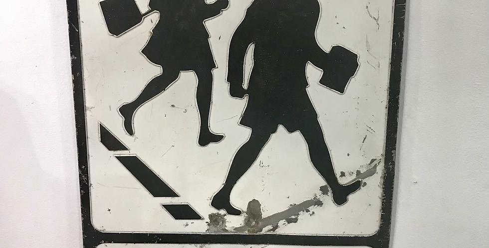 c.1960's School Sign
