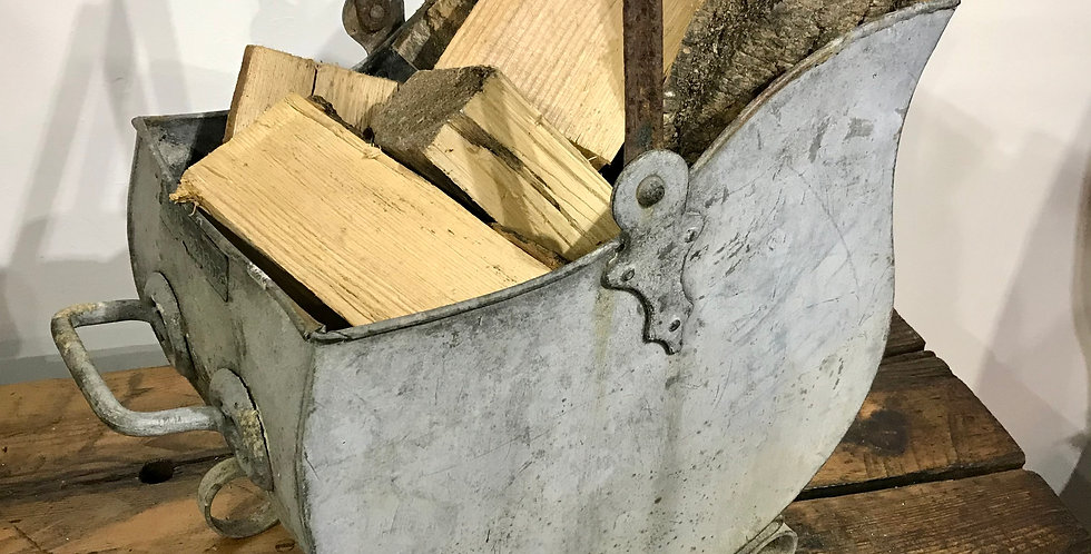 Victorian Log or Coal Bin