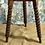 Thumbnail: 19th C. Pine Bobbin Leg Cricket Table