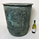 Thumbnail: Large verdigris copper log bin / planter