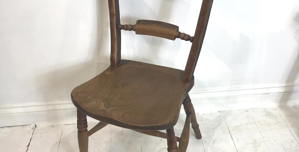 19th Century Elm Oxford Chair