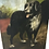 Thumbnail: Oil on Canvas Painting of Sheepdog in a Farmyard
