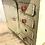 Thumbnail: C. 1950's/1960's Tinplate Toy Kitchen Cupboard