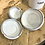 Thumbnail: Set of 3 c.1930's Enamel Kitchen Jars