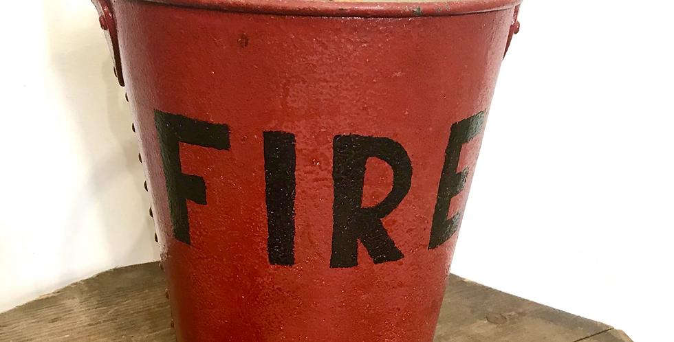 Vintage Fire Bucket #1