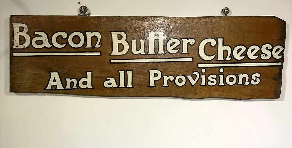 Early 20th Century Shop Sign