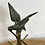 Thumbnail: 19th Century Gilded Ring Stand with Parrot Sculpture