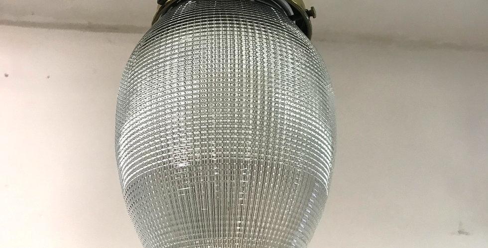 c.1930's Teardrop Holophane Light