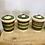 Thumbnail: Set of 3 Dragon Pottery Rhayader Kitchen Jars
