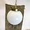 Thumbnail: c. 1930's Opaline Globe Pendant Light