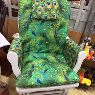 Ikea gliding chair