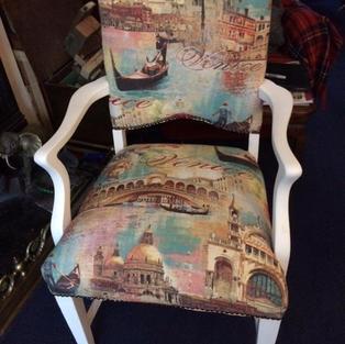 Venice themed chair