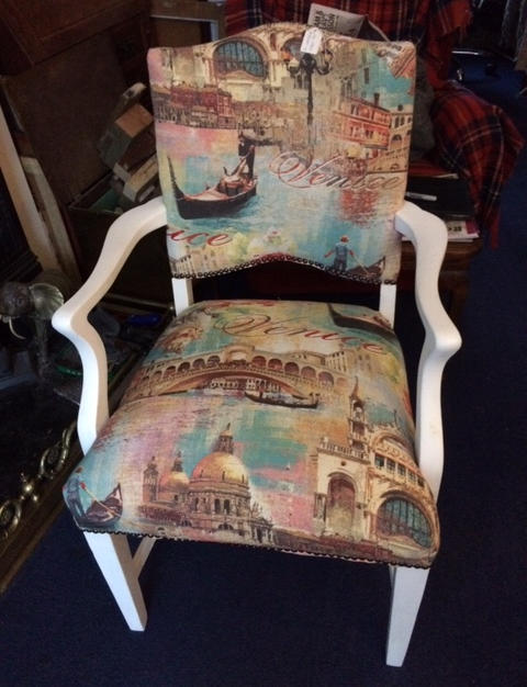 Venice themed chair